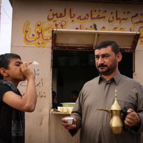 سوگواره چهارم-عکس 22-محمد رضا میثمی-پیاده روی اربعین از نجف تا کربلا