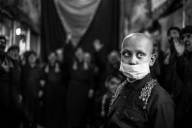 سوگواره پنجم-عکس 1-فرشید  احمدپور-جلسه هیأت