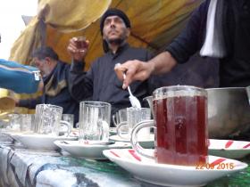 سوگواره سوم-عکس 5-علی مقنی-پیاده روی اربعین از نجف تا کربلا