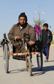 سوگواره سوم-عکس 6-علی بیات-پیاده روی اربعین از نجف تا کربلا