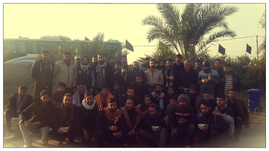 سوگواره پنجم-عکس 15-مسعود عطار-پیاده روی اربعین از نجف تا کربلا