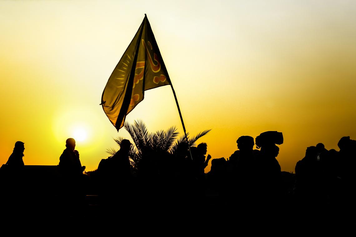 سوگواره سوم-عکس 5-محمدرضا پارساکردآسیابی-پیاده روی اربعین از نجف تا کربلا