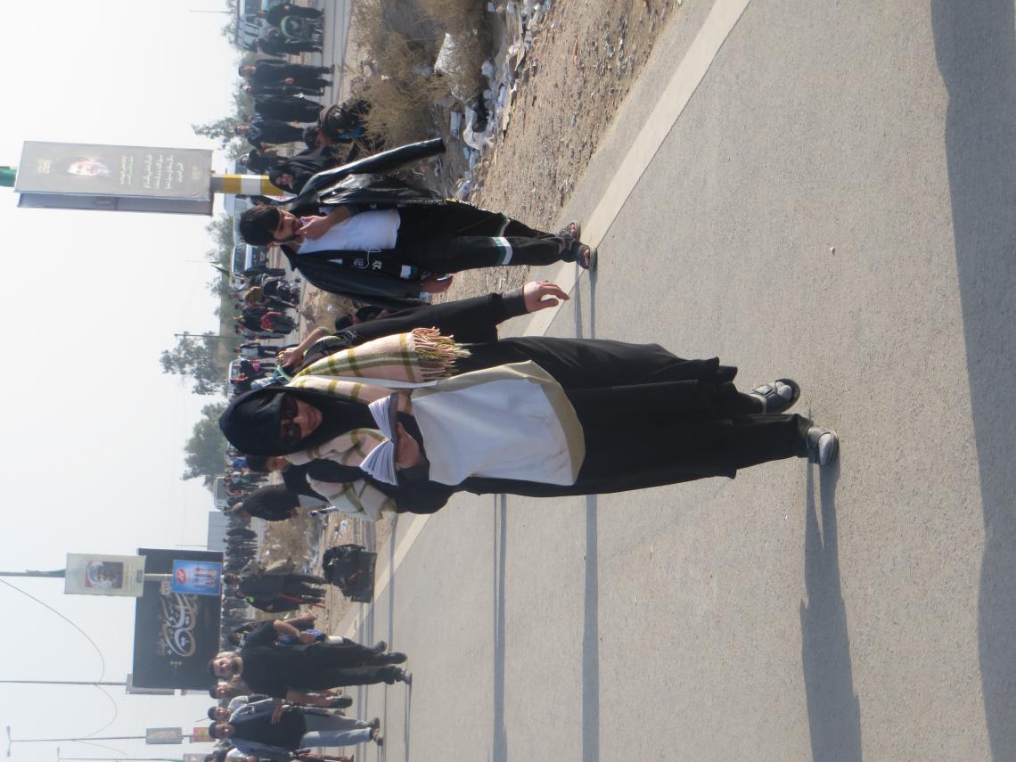 سوگواره سوم-عکس 2-فرهاد کسائی-پیاده روی اربعین از نجف تا کربلا