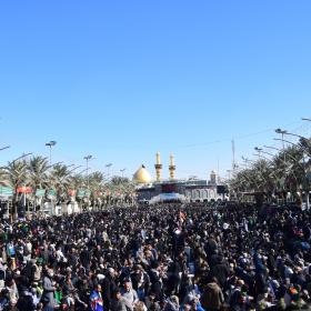 سوگواره پنجم-عکس 6-محمد وحیدیان-پیاده روی اربعین از نجف تا کربلا