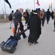 سوگواره چهارم-عکس 34-محمد علیپور شهیر-پیاده روی اربعین از نجف تا کربلا