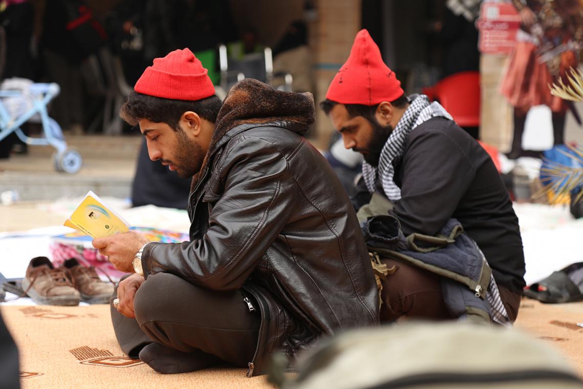 سوگواره چهارم-عکس 4-محمد امین محمودی-پیاده روی اربعین از نجف تا کربلا