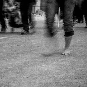 سوگواره پنجم-عکس 24-حسین علی پور-پیاده روی اربعین از نجف تا کربلا