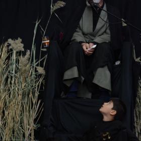 سوگواره پنجم-عکس 27-امیر مسعود اتحادی-جلسه هیأت فضای بیرونی