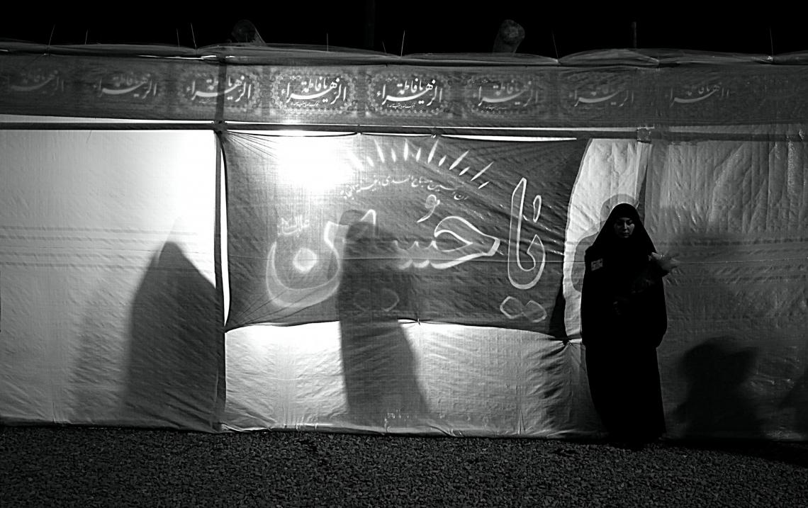 سوگواره سوم-عکس 11-بهاره عباسی-جلسه هیأت فضای بیرونی