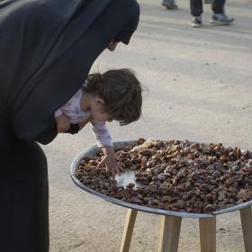سوگواره پنجم-عکس 12-فاطمه عاقل زاده-پیاده روی اربعین از نجف تا کربلا