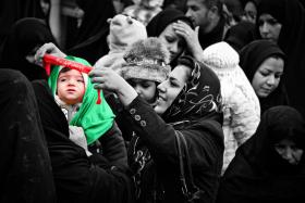 سوگواره دوم-عکس 14-رضا نجفلو-پیاده روی اربعین از نجف تا کربلا