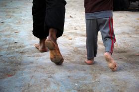 سوگواره سوم-عکس 35-محمد حسن صلواتی-پیاده روی اربعین از نجف تا کربلا