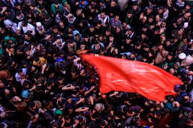 سوگواره چهارم-عکس 40-محمد حسن صلواتی-پیاده روی اربعین از نجف تا کربلا