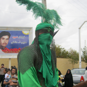 سوگواره دوم-عکس 4-ابوالفضل کرمانی نسب-جلسه هیأت قدمی و کهن