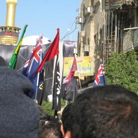 سوگواره دوم-عکس 16-محمد کشاورز-پیاده روی اربعین از نجف تا کربلا