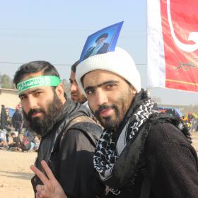 سوگواره سوم-عکس 11-امیر ورزدار-پیاده روی اربعین از نجف تا کربلا