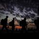 سوگواره چهارم-عکس 21-علی ابک-پیاده روی اربعین از نجف تا کربلا