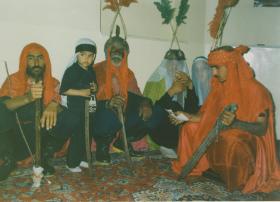 سوگواره سوم-عکس 1-حسین شهریاری-آیین های عزاداری