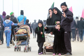 سوگواره سوم-عکس 2-محمد رفیعی موحد-پیاده روی اربعین از نجف تا کربلا