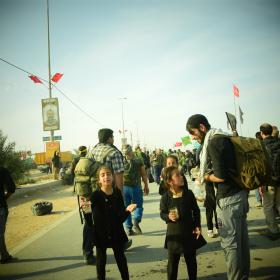 سوگواره پنجم-عکس 4-محمد وحیدیان-پیاده روی اربعین از نجف تا کربلا