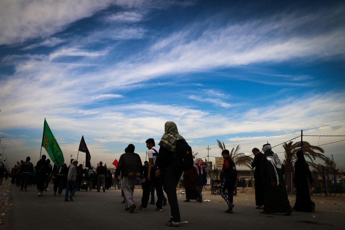 سوگواره چهارم-عکس 34-محمد رضا میثمی-پیاده روی اربعین از نجف تا کربلا