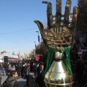 سوگواره چهارم-عکس 119-احمدرضا کریمی-آیین های عزاداری