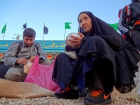 سوگواره سوم-عکس 138-حسین استوار -پیاده روی اربعین از نجف تا کربلا