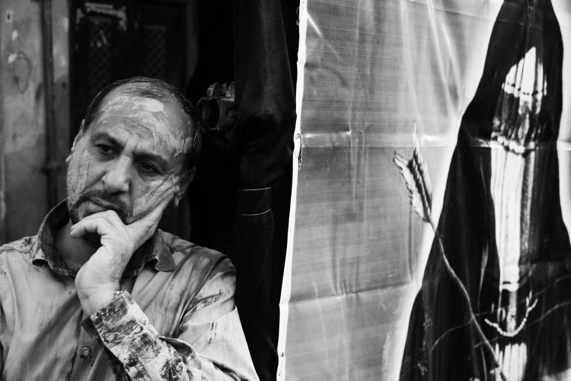 سوگواره سوم-عکس 6-سید مهران میرفصیحی-جلسه هیأت فضای داخلی