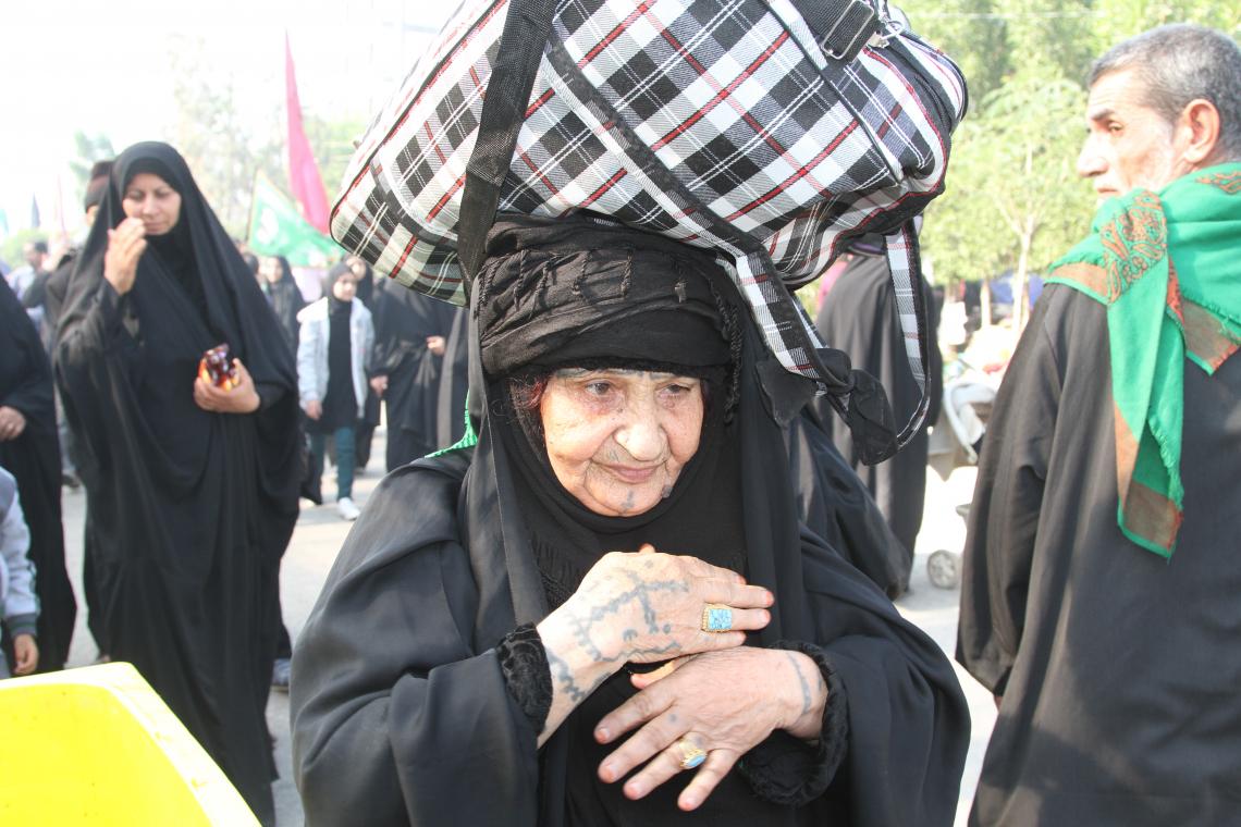 سوگواره پنجم-عکس 15-احسان مهدیان-پیاده روی اربعین از نجف تا کربلا