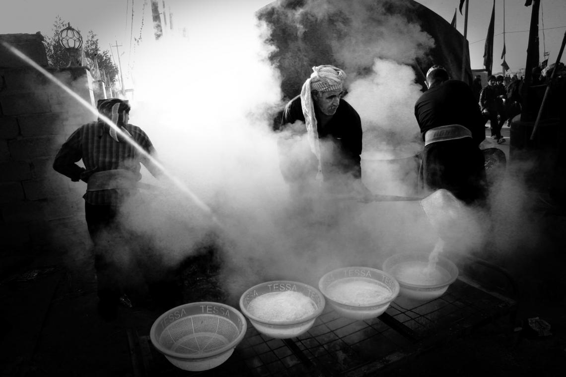 سوگواره سوم-عکس 72-حسین استوار -پیاده روی اربعین از نجف تا کربلا