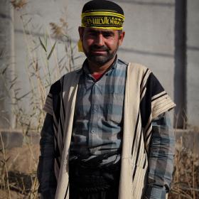 سوگواره سوم-عکس 111-حسین استوار -پیاده روی اربعین از نجف تا کربلا
