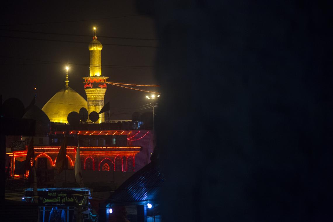سوگواره سوم-عکس 4-محمدرضا پارساکردآسیابی-پیاده روی اربعین از نجف تا کربلا