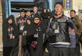 سوگواره سوم-عکس 19-علی بیات-پیاده روی اربعین از نجف تا کربلا