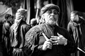سوگواره چهارم-عکس 14-علی متقی-آیین های عزاداری