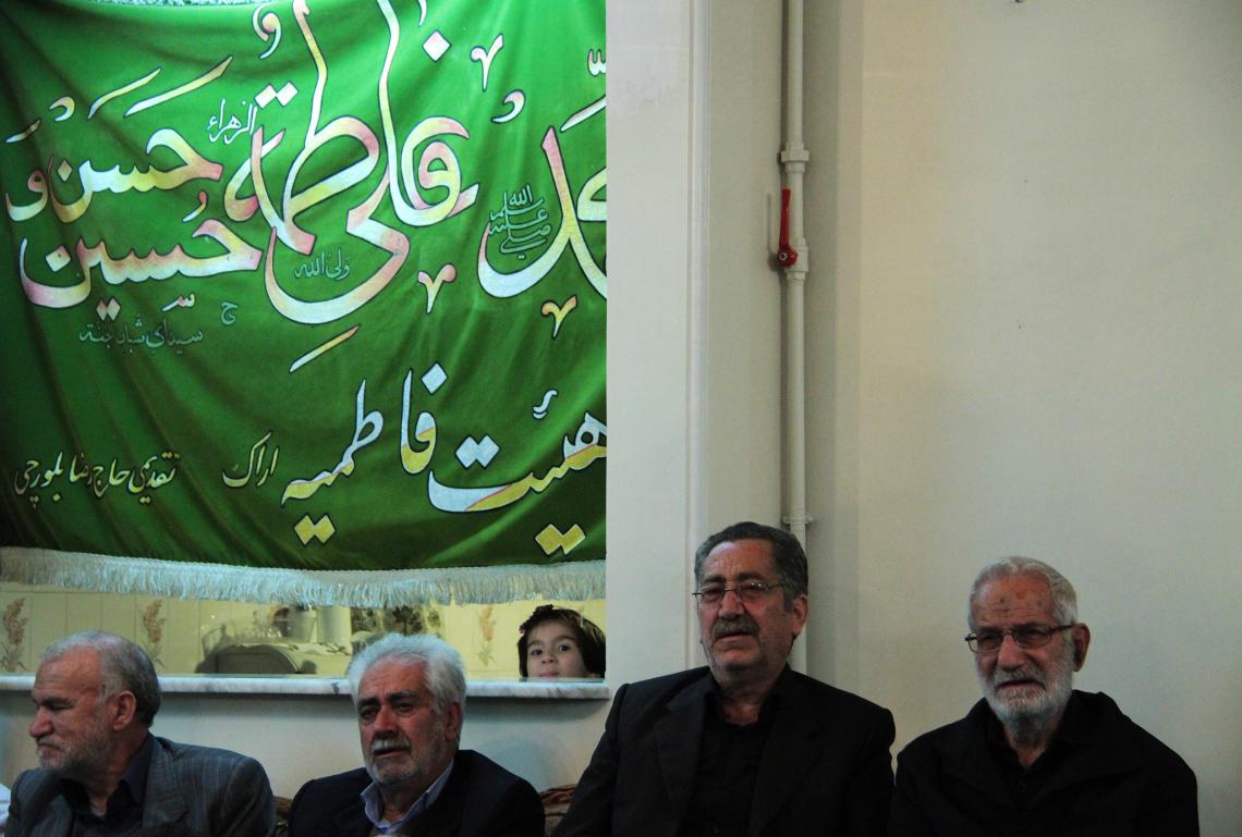 سوگواره سوم-عکس 3-ابوالفضل حسینی-جلسه هیأت فضای داخلی