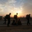 سوگواره چهارم-عکس 18-هادی ابوطالبی-پیاده روی اربعین از نجف تا کربلا