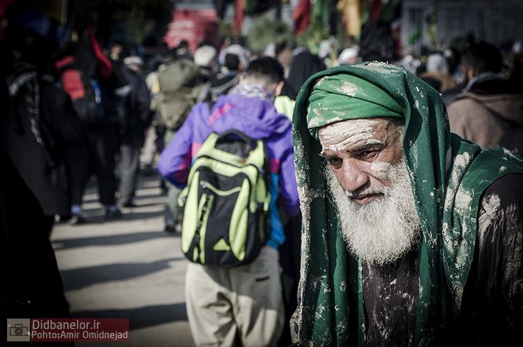 سوگواره سوم-عکس 37-امیر امیدنژاد-پیاده روی اربعین از نجف تا کربلا