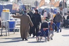سوگواره سوم-عکس 76-محسن مرادی-پیاده روی اربعین از نجف تا کربلا