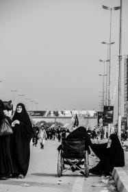 سوگواره چهارم-عکس 15-جواد پرست-پیاده روی اربعین از نجف تا کربلا