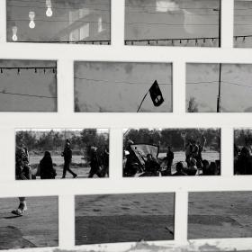 سوگواره سوم-عکس 77-حسین استوار -پیاده روی اربعین از نجف تا کربلا