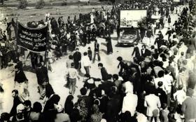 سوگواره چهارم-عکس 1-احمد هاشمیان- جلسه هیأت قدیمی کهن