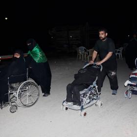 سوگواره سوم-عکس 59-امير رضا فخري-پیاده روی اربعین از نجف تا کربلا