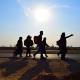 سوگواره چهارم-عکس 2-هادی آهنگر-پیاده روی اربعین از نجف تا کربلا