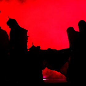 سوگواره دوم-عکس 3-حسین نخجوان-جلسه هیأت فضای بیرونی