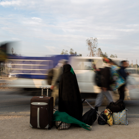 سوگواره چهارم-عکس 16-علی  حسن زاده-پیاده روی اربعین از نجف تا کربلا