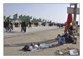 سوگواره سوم-عکس 15-سید مصطفی عطاری-پیاده روی اربعین از نجف تا کربلا