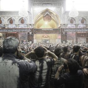 سوگواره پنجم-عکس 125-علی دهقان-پیاده روی اربعین از نجف تا کربلا