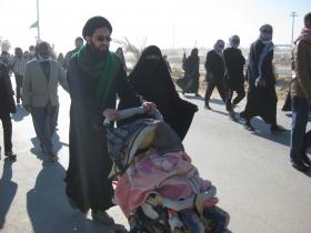 سوگواره دوم-عکس 51-محمد کشاورز-پیاده روی اربعین از نجف تا کربلا