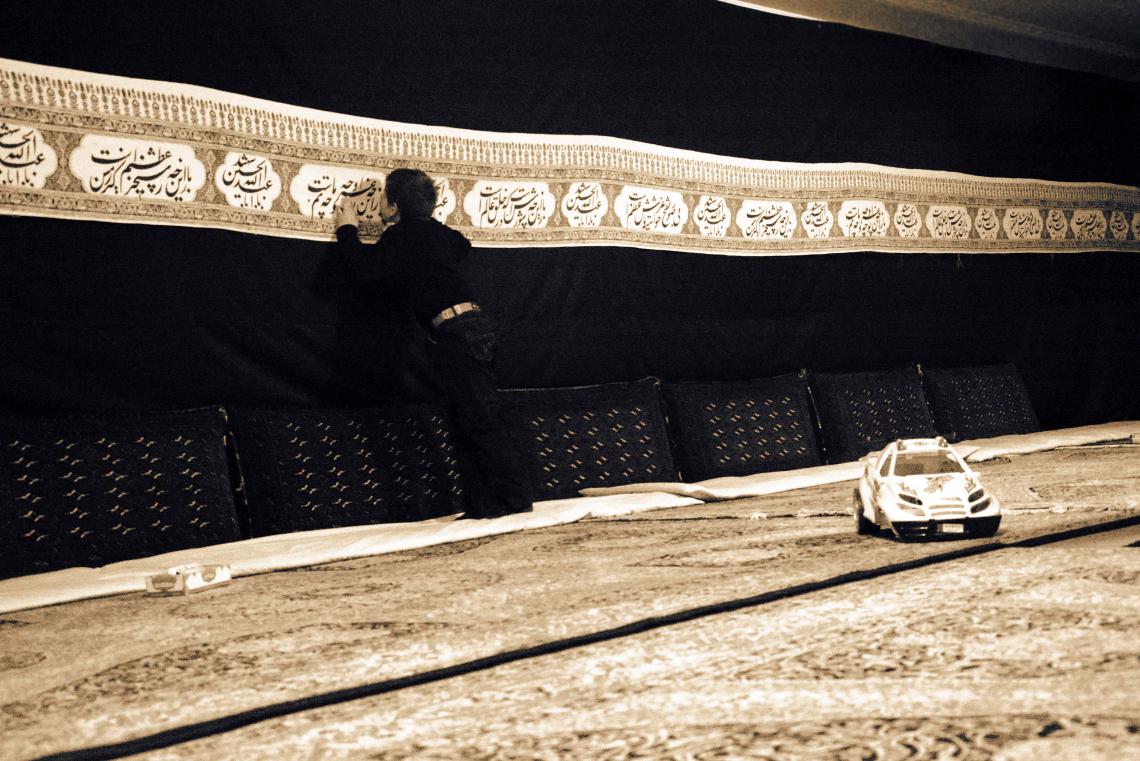سوگواره سوم-عکس 18-سید محمد جواد ضمیری هدایت زاده-جلسه هیأت فضای داخلی