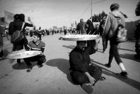 سوگواره سوم-عکس 117-حسین استوار -پیاده روی اربعین از نجف تا کربلا